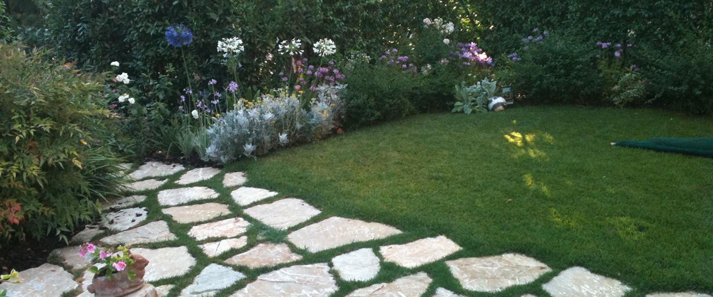 Pietre Di Izzalini Affogate Nell'erba