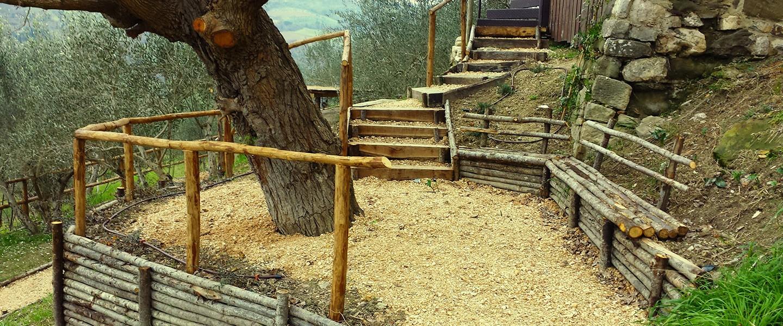 Recinzioni e staccionate vivaio bellucci e stefanelli todi for Recinzioni giardino legno