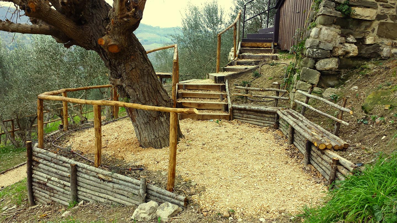 Strutture in legno vivaio bellucci e stefanelli todi - Terrazzamenti giardino ...