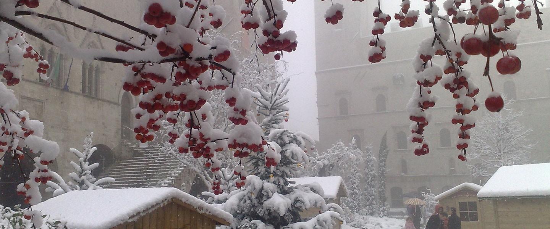 Todi, Piazza Del Popolo Natale 2008